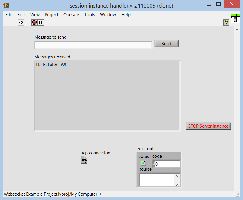 screenshot instance handler